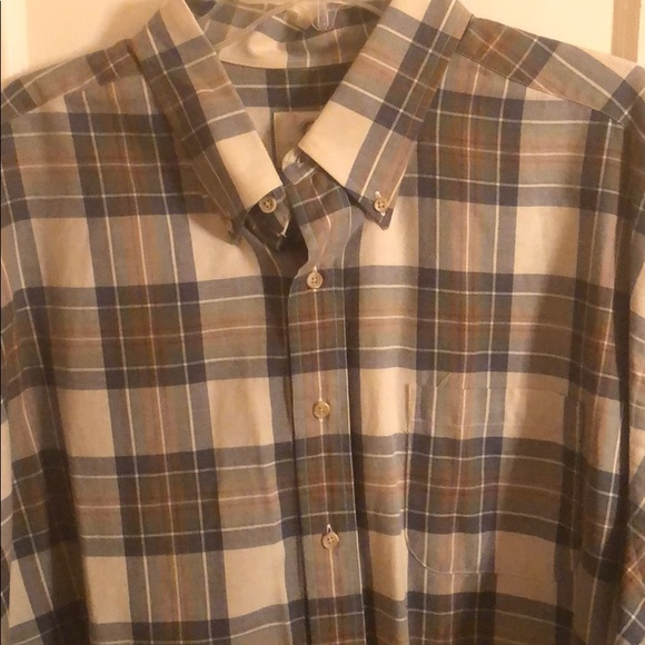 Viyella Shirts Viyella Cotton Wool Vintage Made In Usa Shirt Xxl Poshmark